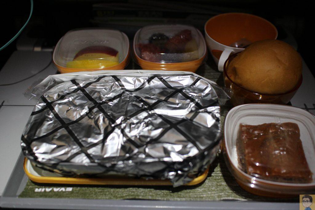 エバー航空機内食