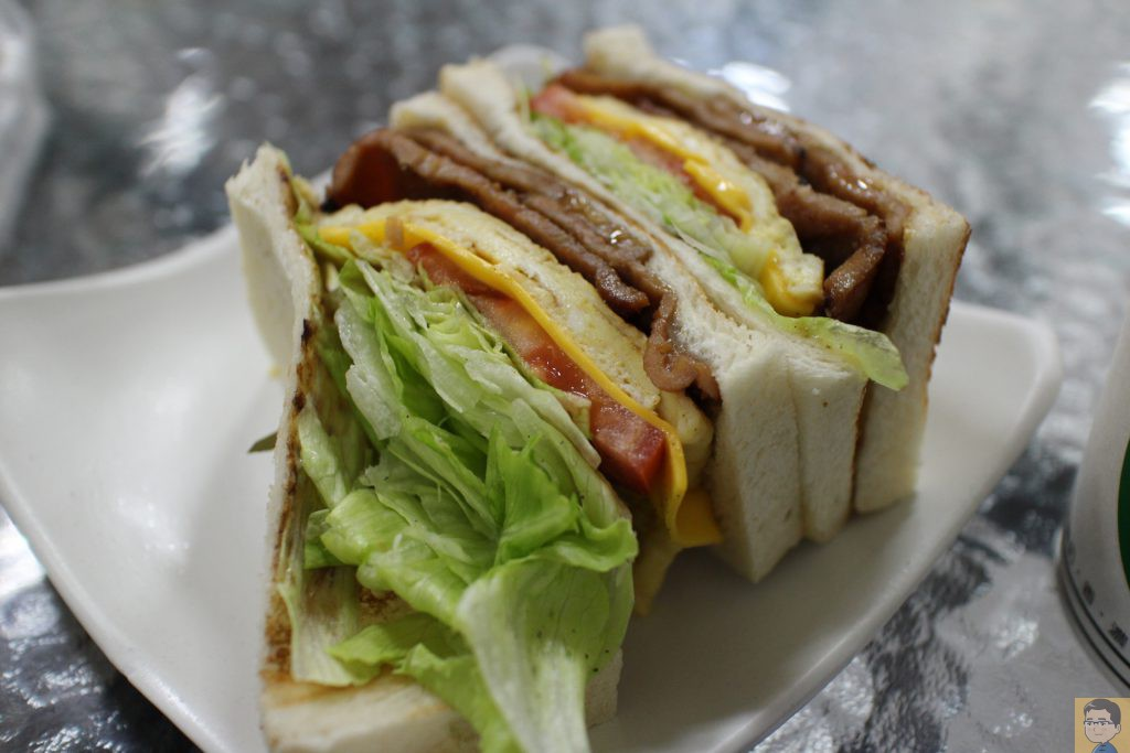 古糧碳烤三明治