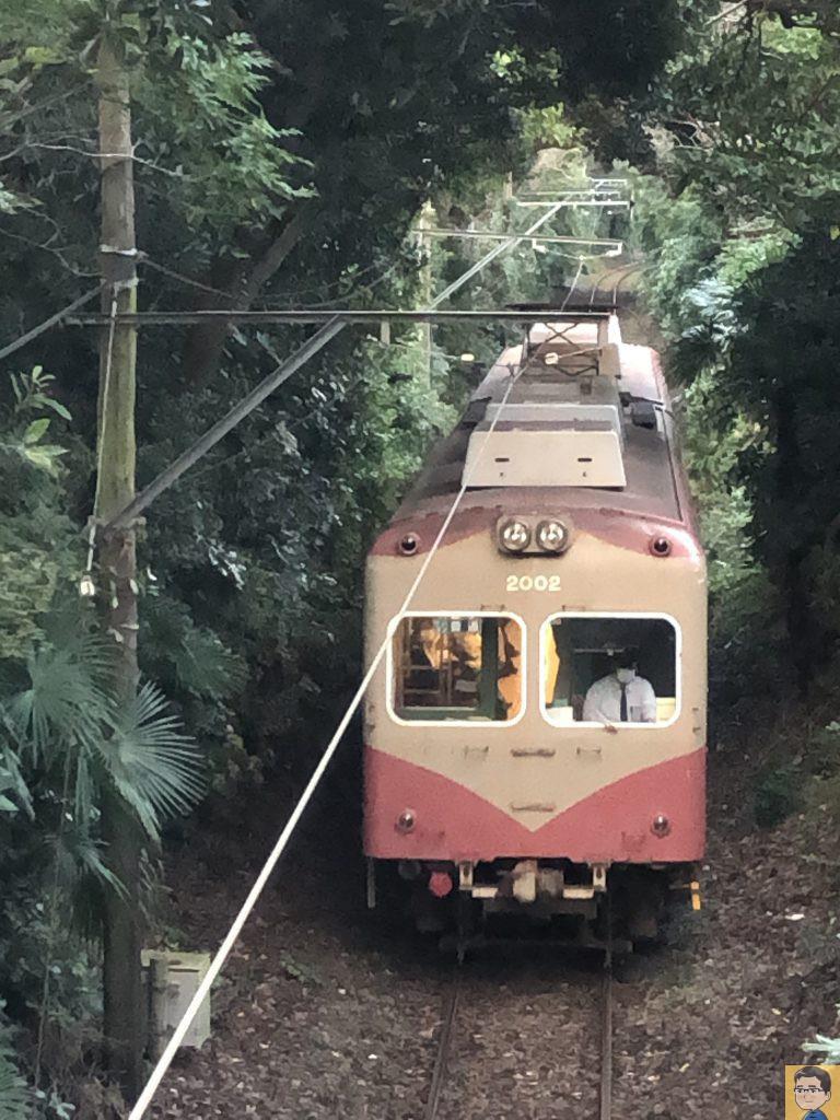 銚子電鉄 緑のトンネル