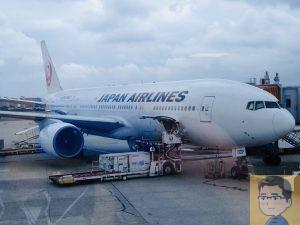 JAL B777-200
